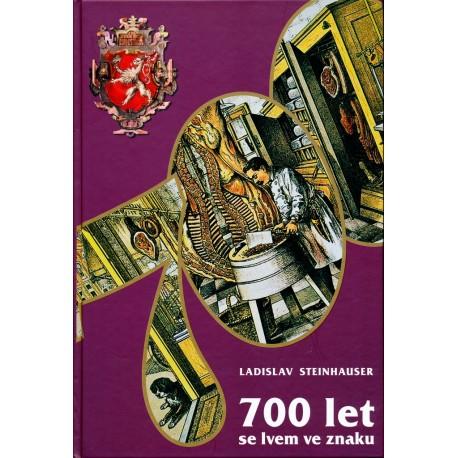 STEINHAUSER LADISLAV: 700 LET SE LVEM VE ZNAKU